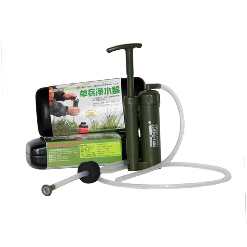 Portable Outdoor Water Filter Purify Pump Outdoor Survival Hiking CampingW6 CampingW6 CampingW6  | Günstige Preise  70fe15