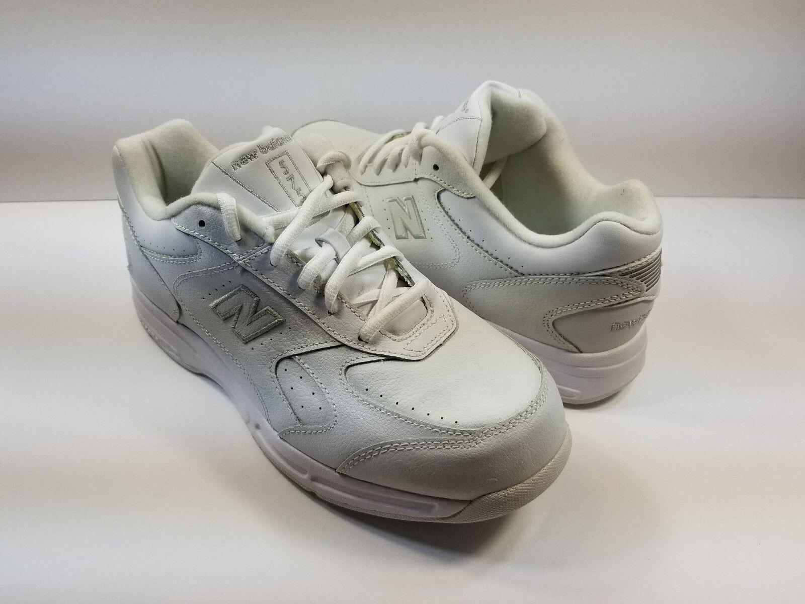 New Balance 575 AL-1 Health Walk Men's White Sneakers - Size 8 4E