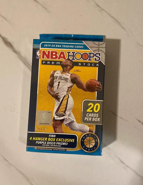 2019-20 Panini NBA Hoops Premium Stock Hanger Box Factory Sealed