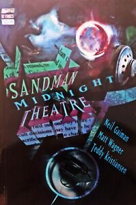 SANDMAN Midnight Theatre-Neil Gaiman-DC Vertigo Magic Press-1a edizione