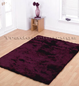 X Large Soft Shiny Silky Next Aubergine