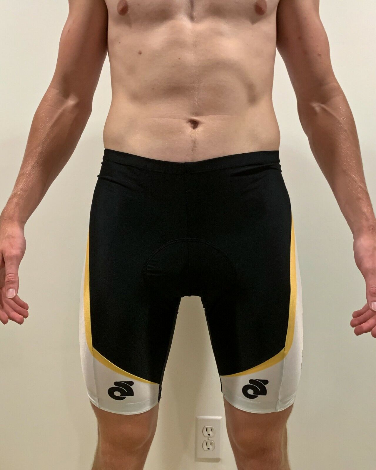 University  of Missouri Mizzou Champsys Cycling Shorts Men's Small NWT  for sale