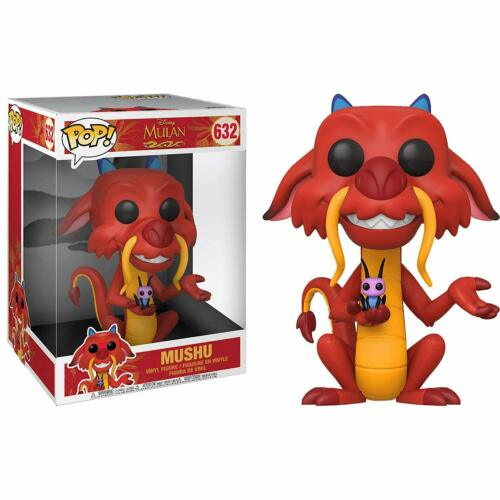 "Mushu 10/"" Vinyl Figure Funko Pop Disney Mulan"