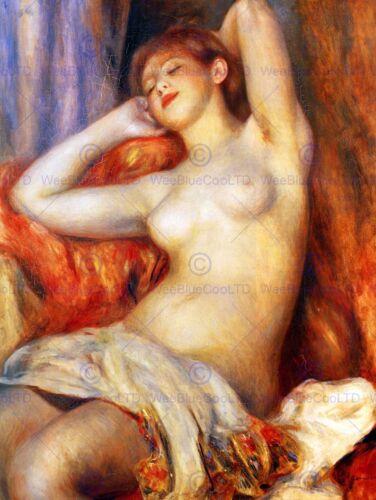 PIERRE AUGUSTE RENOIR SLEEPING OLD MASTER ART PAINTING PRINT POSTER ART 2539OM