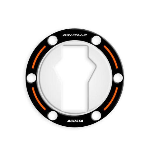 Orange M DRAGSTER GP-510 FUEL CAP PROTEZIONE TAPPO BENZINA MV AGUSTA BRUTALE