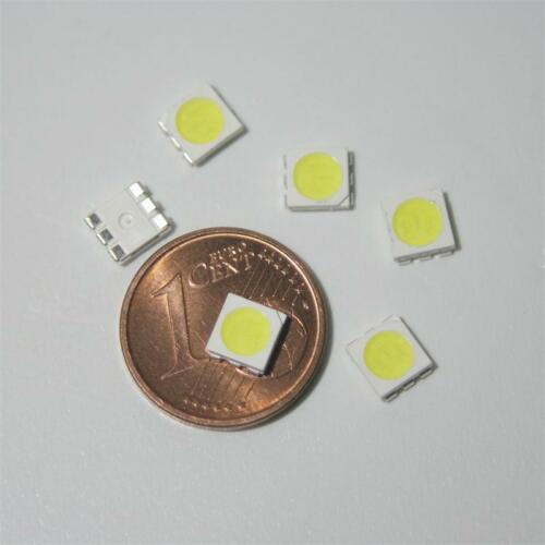 bianco 100x SMD POWER LED 5050 3-Chip WEISS weiße SMDs LEDs white blanch SMT