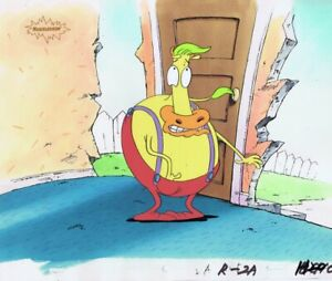 ROCKO-039-S-MODERN-LIFE-Original-Production-Cel-Cell-Nickelodeon-1990s-Heffer