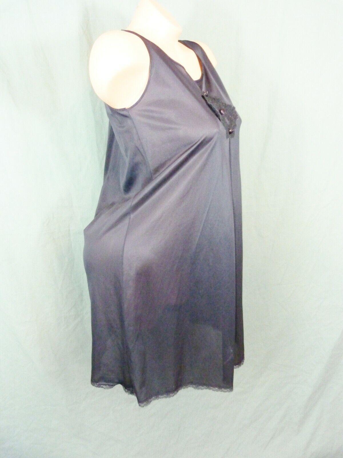Texsheen Size Medium Full Slip Nightgown - image 8