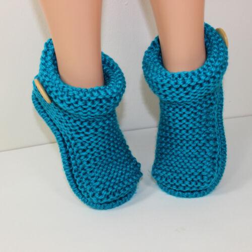 Imprimé tricot instructions-Enfants Bottes facile-chaussons tricot motif
