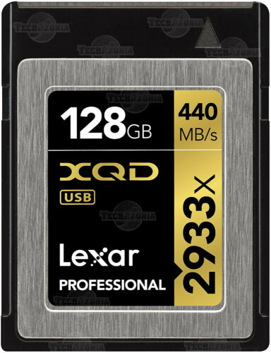 Lexar Profesional 64GB 128GB Tarjeta de memoria 2933X XQD Nikon D4S D5 D500 D850 Z6 Z7