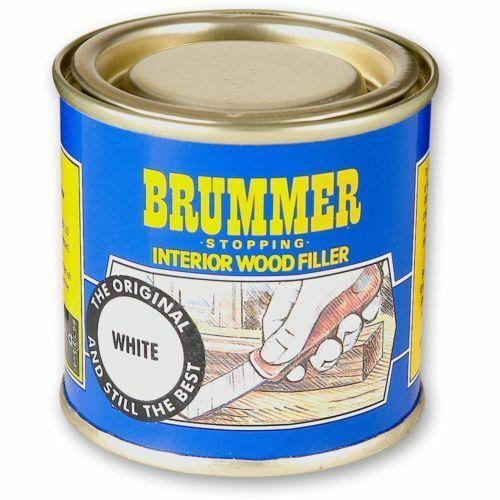 Brummer WHITE Interior Wood Filler FREE UK DELIVERY