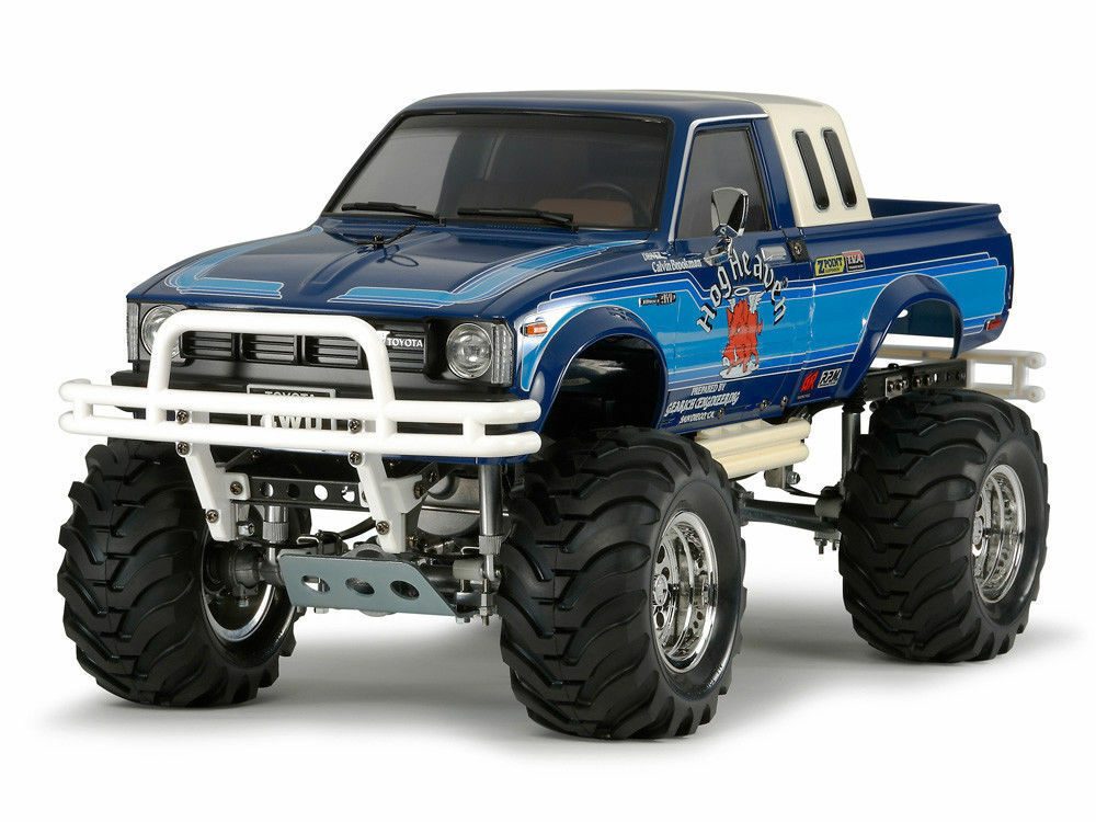 Tamiya 1 10 RC coche serie No.519 Toyota Hilux 4WD alta elevación (RN36) 58519 Kit