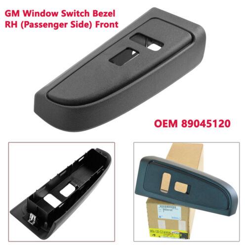 Passenger Power Window Switch Bezel Pewter Front Passenger Side for Chevy GMC