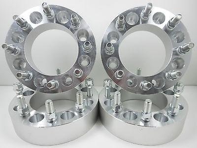 "4 Pc Ford F-250 F-350 PowerStroke | 2"" | 14x2.0 | 8x170 mm| 8 Lug Wheel Spacers"