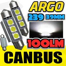 2X BMW Z3 M 3.2 239 C5W WHITE INTERIOR COURTESY BULB LED UPGRADE LIGHT NEW