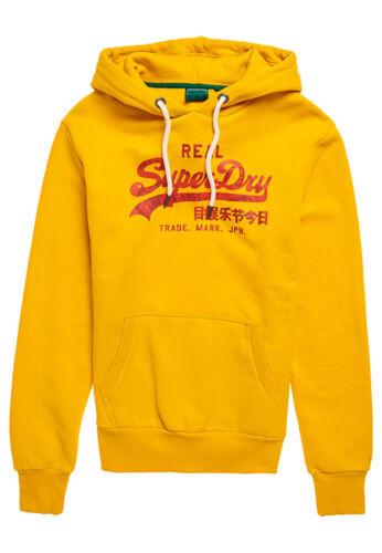 Superdry Hoody Herren VL RISING SUN HOOD Golden Rod
