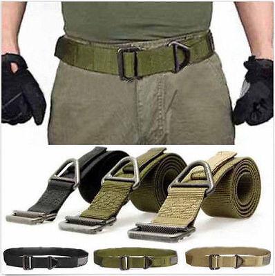 Fashion Safe Survival Tactical Belt Hunting Emergency Rescue Rigger Militaria