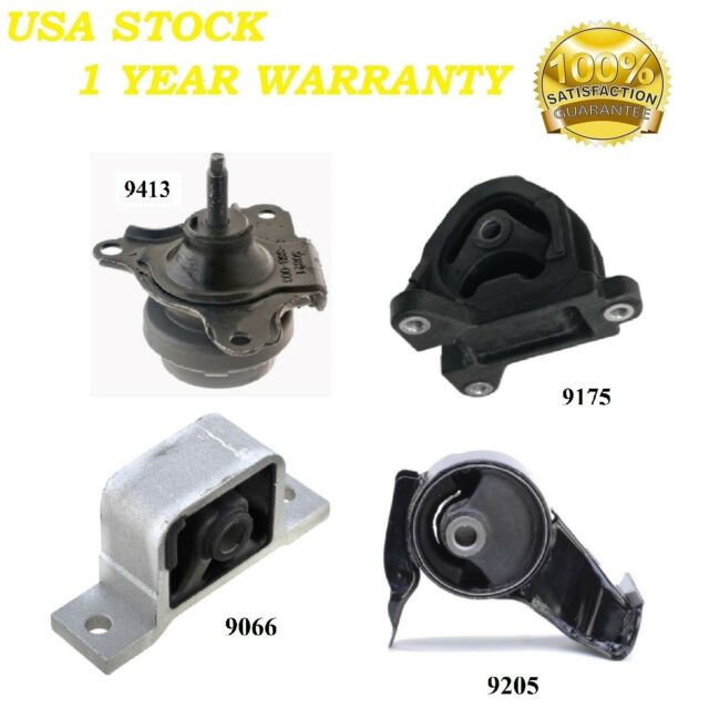 4 PCS MOTOR & TRANS MOUNT FIT 2002-2006 Acura RSX 2.0L For
