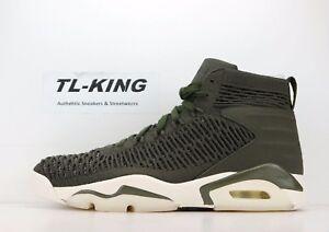 a7534bb5914551 Nike Air Jordan Flyknit Elevation 23 Cargo Khaki Sail AJ8207 301 ...