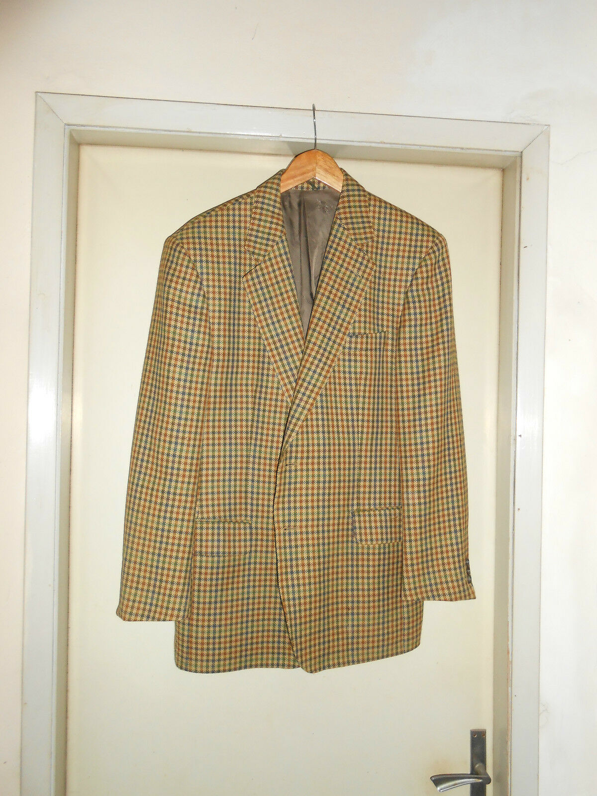 Giacca jacket BURBERRY in Lana Wool da herren Man NEW Größe 50 Made In U.K.