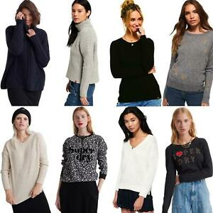 Superdry-Jumper-para-Mujer-knits-estilos-surtidos