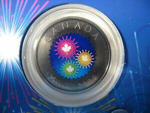 RCM-2009-25-Cents-Fireworks-Congratulations-Gift-Coin-Card-NBU