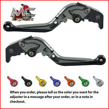 Folding Extendable Adjustable Levers Buell XB12R XB12Ss XB12Scg 2009 Grey