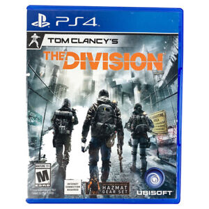 Tom Clancy's The Division PlayStation PS4 Video Game w/ Case