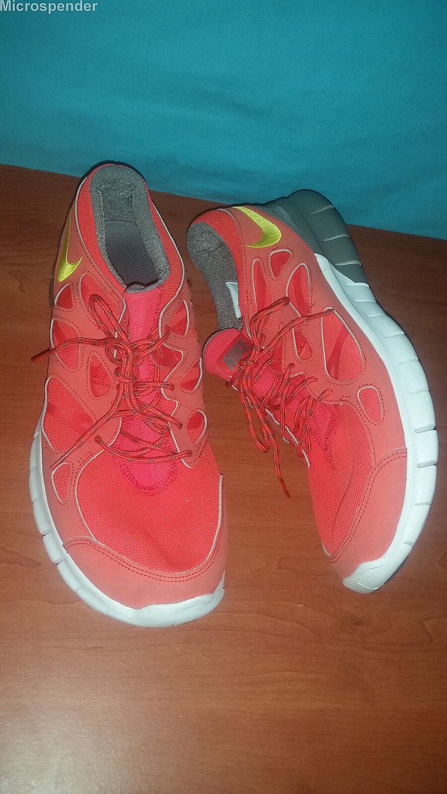 Nike freerun 2 tongueless männer blut orange 537732 laufschuhe männer tongueless ist groß. 06c833