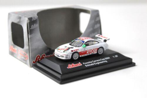 1:87 Schuco PORSCHE 911 Carrera Cup 2004 Ryobi #19 NEW per PREMIUM-MODELCARS