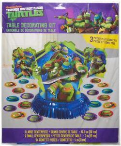 Teenage Mutant Ninja Turtles Birthday Party Table Decoration Kit
