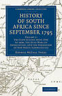 History of South Africa Since September 1795 by George McCall Theal (Paperback, 2010)