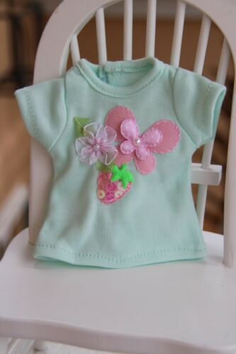 "T-SHIRT~FLOWERS~ for Paola Reina dolls~Corolle~13.5/"" 34cm ~iCukla~#8"