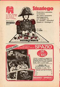 Pubblicita-Advertising-Werbung-1970-JUMBO-STICKTOY-Stratego