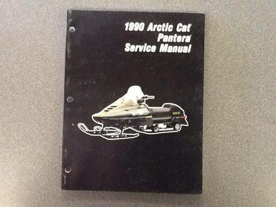 ARCTIC CAT OEM SERVICE MANUAL 1990 PANTERA 2254-576