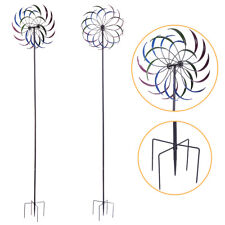 Fans Windmill Toys Children Kids Garden Decoration Ornament Colorful Outdoors Spinner Mar28 Household Appliances