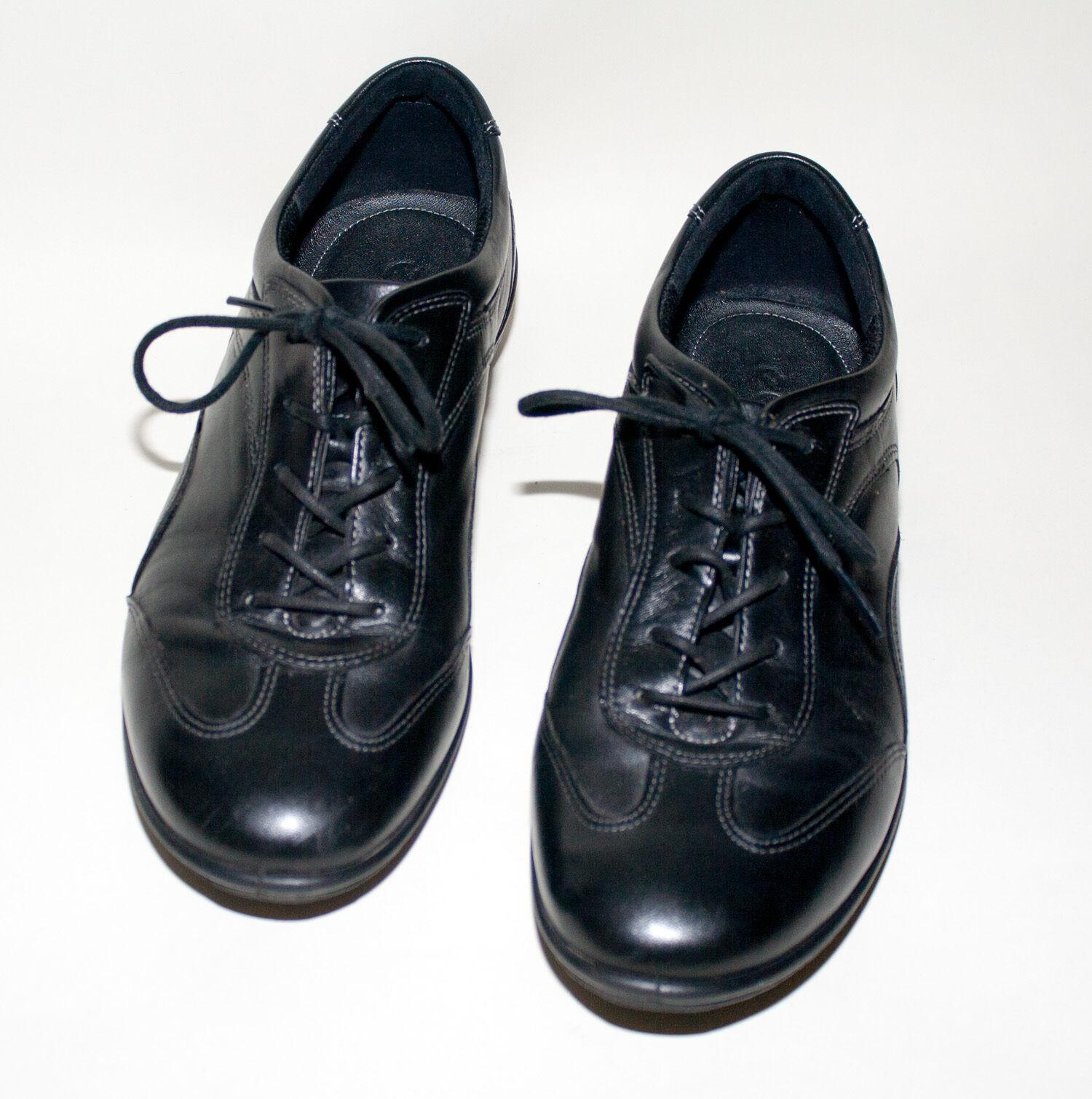 ECCO Schuhe ♥ Loafer ♥ Schnür ♥ Schuhe ECCO ♥ Gr. 39  ♥ NEUw  ♥ Leder ♥ herusnehmbar Sohle b34546
