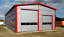 miniatura 1 - Isolierte Stahlhalle 10 x 20 x 5/ 6,00 m