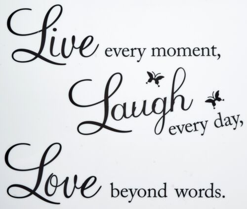 Removable Vinyl Decal Art  Home Living Room Decor Quote Wall Sticker 22/'/' X 15/'/'