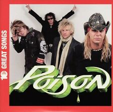 Poison 10 Great Songs CD NEW SEALED Every Rose Has Its Thorn/Your Mama Don't...+
