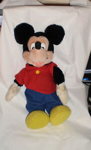 Disney-MIckey-Mouse-Stuffed-Doll-12-034-Applause