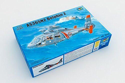 Trumpeter - Maquette hélicoptère echelle 1 35. AS365N2 Dolphin  2  économiser jusqu'à 70%