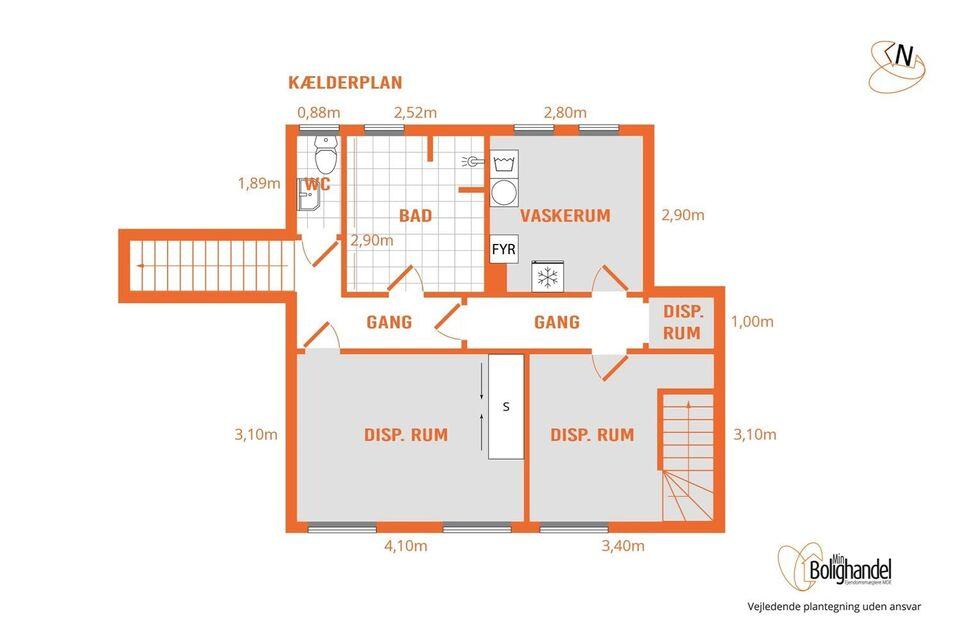 2860 værksted, etageareal kvm. 300, grundareal kvm. 1000