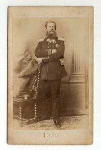 CDV-Carte-de-Viste-Portrait-Kronprinz-Friedrich-von-Preussen