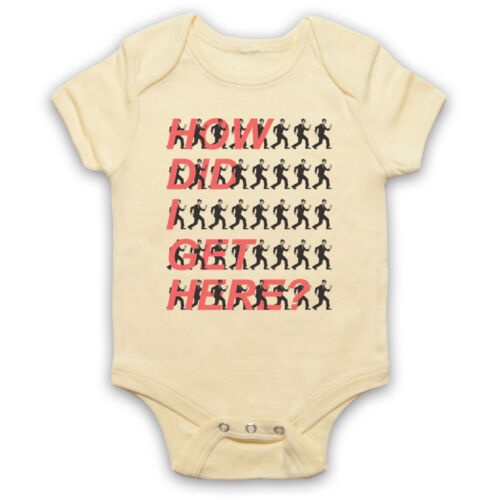 Once in a Lifetime Officieux Talking Heads David Byrne Baby Grow Babygrow Cadeau