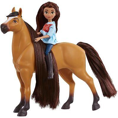 DreamWorks Spirit Riding Free Collector Doll /& Horse Lucky /& Spirit