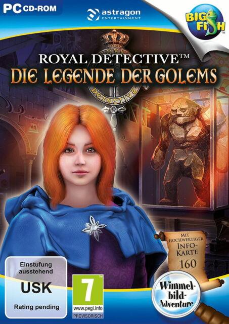 Royal Detective: Die Legende der Golems (PC, 2016)