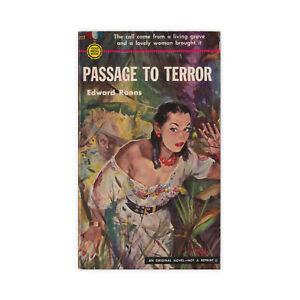 Passage-to-Terror-vintage-Gold-Medal-paperback-novel-from-1952