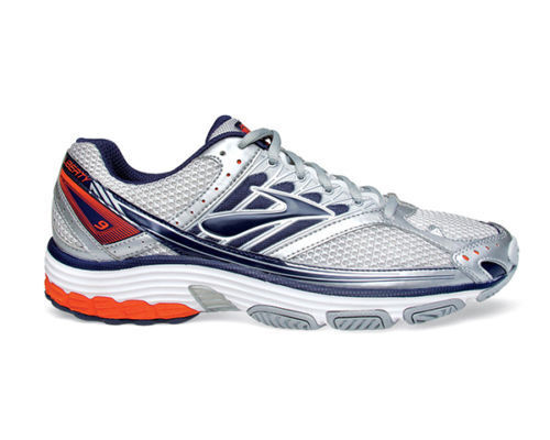 *Sale* Brooks Liberty 9 Silver Mens X-Trainer Shoes (417) Was $129.90 $180 NOW $129.90 Was 48f852