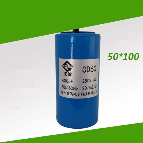 Condensador de 1 un CD60 400UF250V a partir del Condensador Run Capacitor Motor De Ca